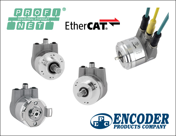 EPC ProfiNet and Ethercat Encoders